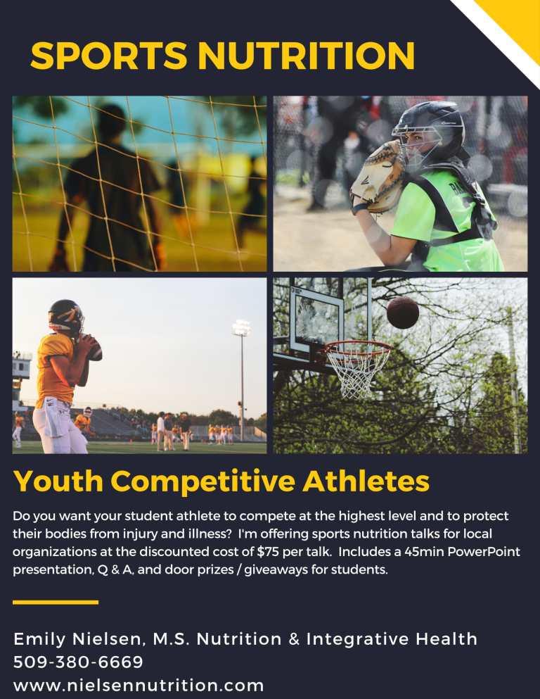 Sports Nutrition talk flyer-1
